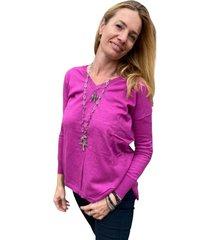 sweater violeta elliot white
