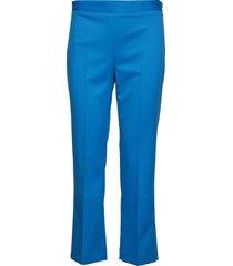2nd july pantalon met rechte pijpen blauw 2ndday