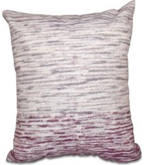 ocean view 16 inch light purple and purple decorative geometric throw pillow