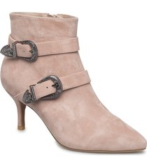 ann s shoes boots ankle boots ankle boot - heel rosa shoe the bear
