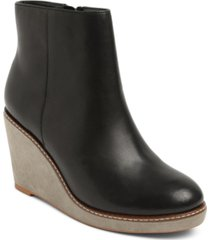 kensie hatley wedge booties women's shoes