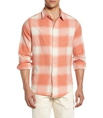 men's madewell brushed cotton perfect shirt