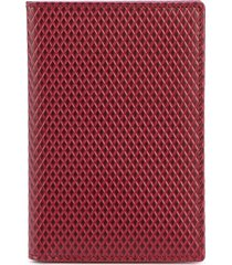 comme des garçons wallet luxury group billfold wallet - red