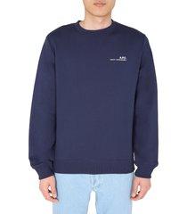 a.p.c. round neck sweatshirt