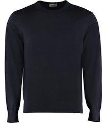 z zegna wool crew-neck pullover