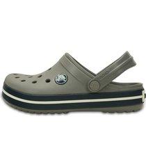 sandália crocs crocband kids cinza