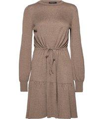 kindle ofelia dress knälång klänning brun bruuns bazaar