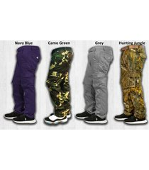 twill cargo pants for work and uniform