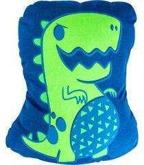 almofada porta pijama fosforescente - diversauro
