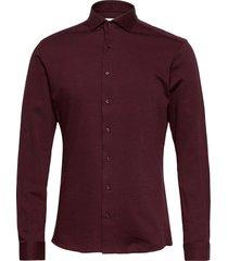 bs bernal, slim fit skjorta business röd bruun & stengade