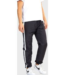 pantalón brave soul negro - calce regular