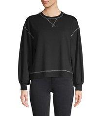 andela exposed seam sweatshirt