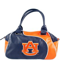 ncaa auburn university bowler handbag