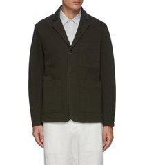 'refada' patch pocket blazer