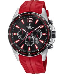 reloj festina modelo f20376/6 rojo hombre