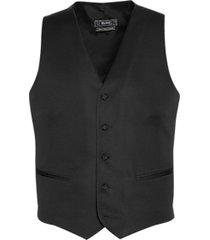 black by vera wang slim fit tuxedo vest black