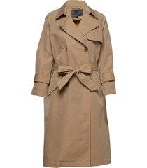 viw trench coat rock beige brixtol textiles