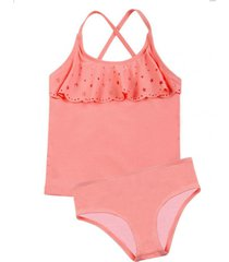 tankini uv30 tela brillante y vuelos h2o wear