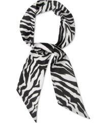 rebecca minkoff women's zebra skinny scarf