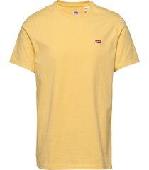 ss original hm tee dusky citro t-shirts short-sleeved gul levi´s men