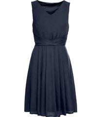 abito drappeggiato (blu) - bodyflirt