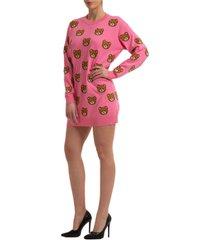 moschino teddy mini dress