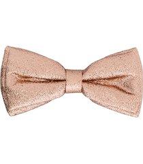 hucklebones london metallic bow hair clip - rose gold
