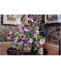 "david lloyd glover the romantic arrangement canvas art - 20"" x 25"""