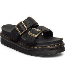 myles ii shoes summer shoes flat sandals svart dr. martens
