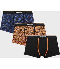 boxer tripack design naranja arrow