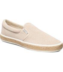 primelake slip-on shoes espadriller skor beige gant
