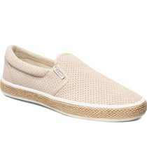 primelake slip-on shoes espadriller skor beige gant