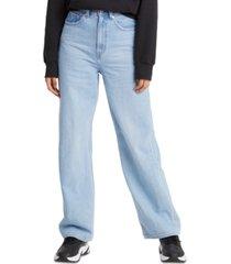 levi's high-rise wide-leg jeans