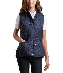 barbour otterburn quilted vest