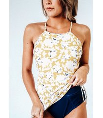 nani swimwear women's drawstring tankini swim top women's swimsuit