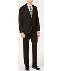 dockers men's modern-fit stripe suit