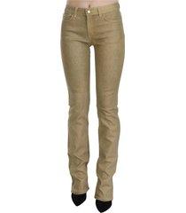 mid waist skinny denim pants jeans