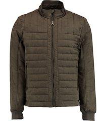 bos bright blue passetta jacket 20301ri07sb/840 brown