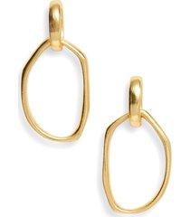 karine sultan hoop earrings in gold at nordstrom