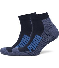 puma unisex bwt cushi d quarter underwear socks regular socks blå puma