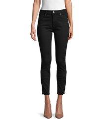 true religion women's halle high-rise skinny jeans - black - size 29 (6-8)