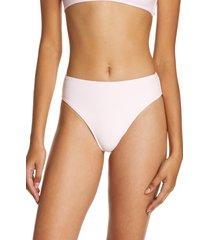 women's frankies bikinis jenna bikini bottoms, size x-small - pink