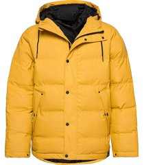 baffle jacket gevoerd jack geel tretorn