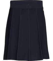 selina knit skirt kort kjol blå morris lady