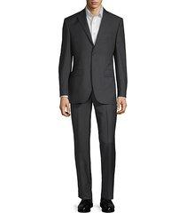 wool pinstripe suit