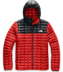 parka thermoball eco hoodie rojo the north face
