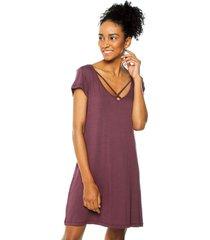 vestido pijama bronzini éxito violeta