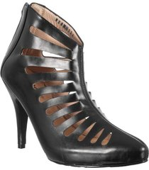 botin formal para dama san polos at-134 negro