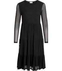 klänning vidavis l/s solid dress