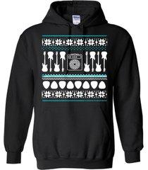 bass guitar - ugly christmas sweater